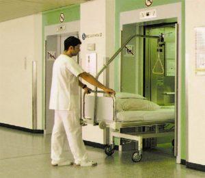 اسانسور بیمارستان